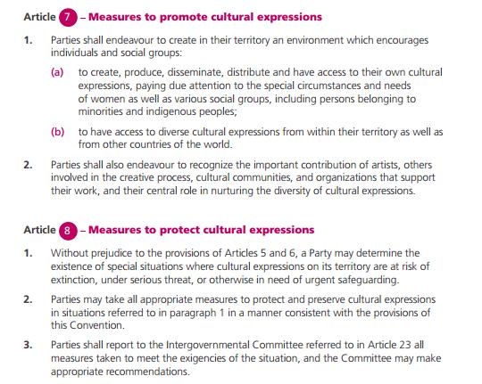 UNESCO Conventions